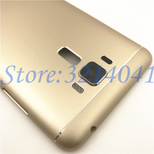 Image 3 - 10Pcs/Lot 5.5 inches Battery Door Back Cover Housing Case For ASUS Zenfone 3 Laser ZC551KL With Camera Lens+Power Volume Buttons