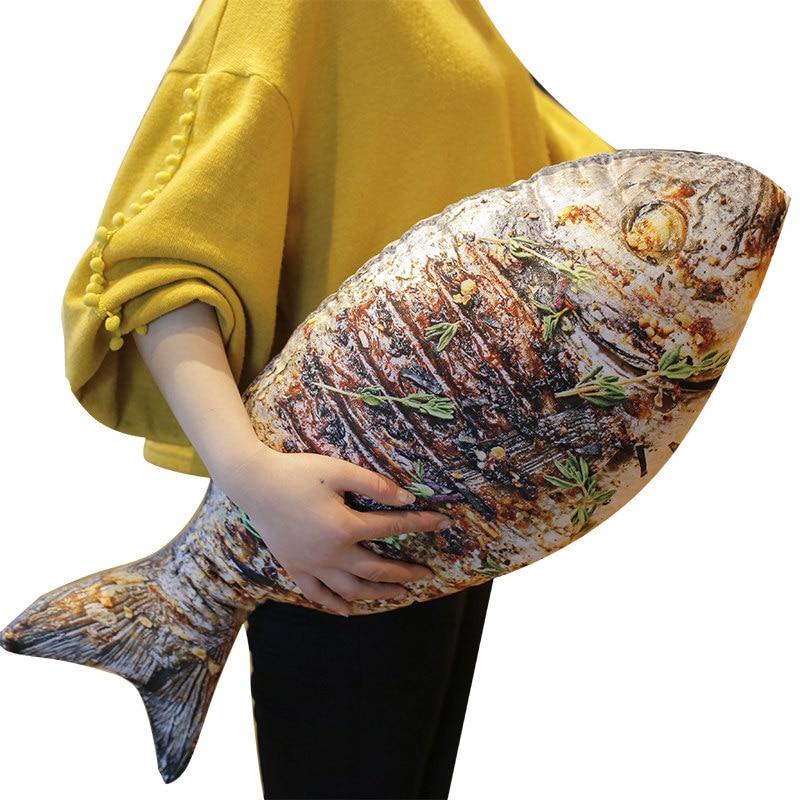 HTB1.CzntsuYBuNkSmRyq6AA3pXan 3D Simulation Food Shape Plush Pillow Creative Chicken Sausage Plush Toys Stuffed Sofa Cushion Home Decor Funny Gifts for Kids