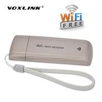 Voxlinkロック解除4グラム/3グラムusb wifi fdd lte b1/b3バンド4グラム無線lanルータモデムワイヤレスusbネットワークホットスポットドングルでsimカードスロッ