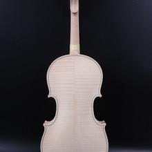 4/4 полноразмерная скрипка модель Гварнери в белом Пламенном клена задняя ель Топ все ручной работы 3085