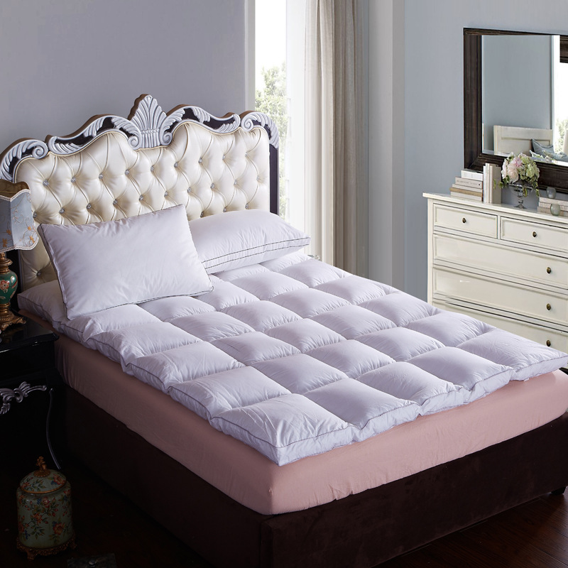 songkaum luxury topper 95 goose down filling 100 cotton cover quilted bed five star