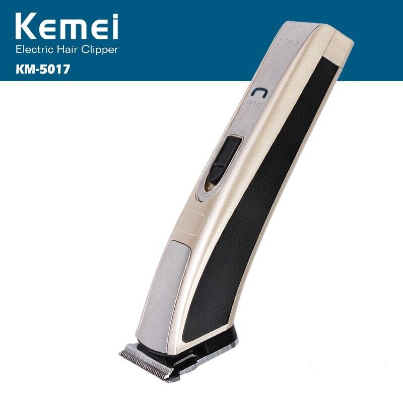 Kemei recargable eléctrico máquina de corte para hombre profesional cortapelos eléctrico sin cuerda de pelo Trimmer KM-5017