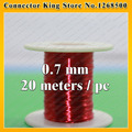 0.7mm *20m / pcs QA-1-130 2UEW Polyurethane enameled Wire Copper Wire enameled Repair