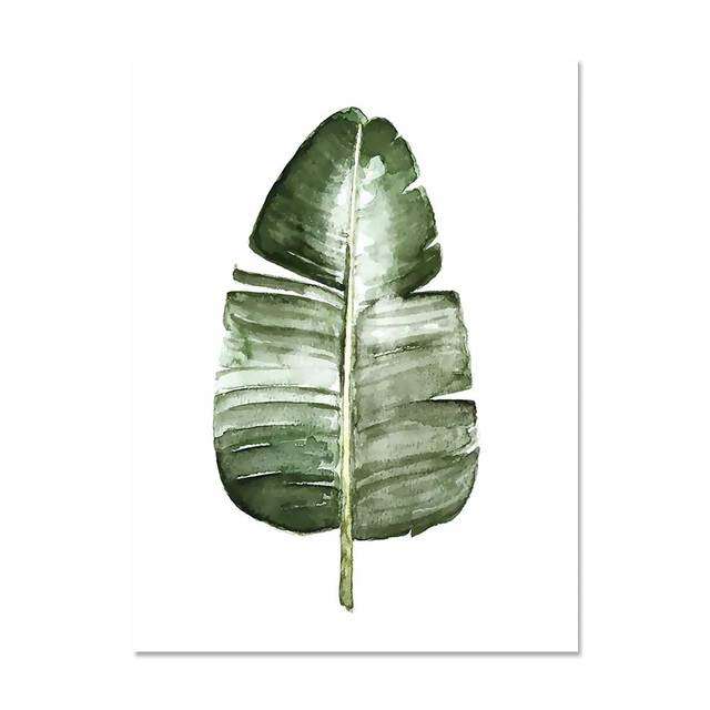 Tropical Leaf Wall Art