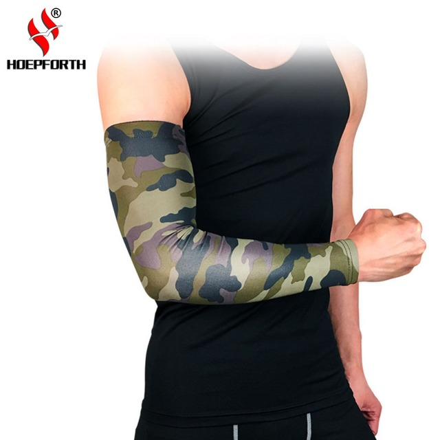 c23b703ab3 Arm Sleeve Sports Basketball Volleyball Arm Warmers UV Protection Cycling  Golf Bike Arm Covers