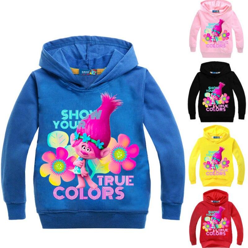 Trolls Poppy Girls T-Shirt and Skirt Set