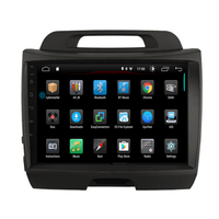 IPS quad core android 9.1car dvd for KIA sportage 2010 2015 gps navigation car radio video stereo multimedia player