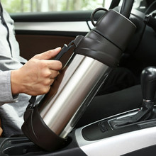 2500ml,2.5L Stainless Steel insulated Thermos Bottle Thermo cup Travel Coffee Mug Thermal vaccum water bottle Thermal Car Kettle цена и фото