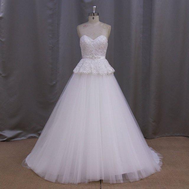 Us 2 4 6 8 10 12 14 16 18 Custom Made Wedding Dresses
