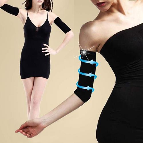 1 Pair Arm Massage Trim Slim Shapers Wrap Slimming Burn Fat Slimmer Beauty Tool