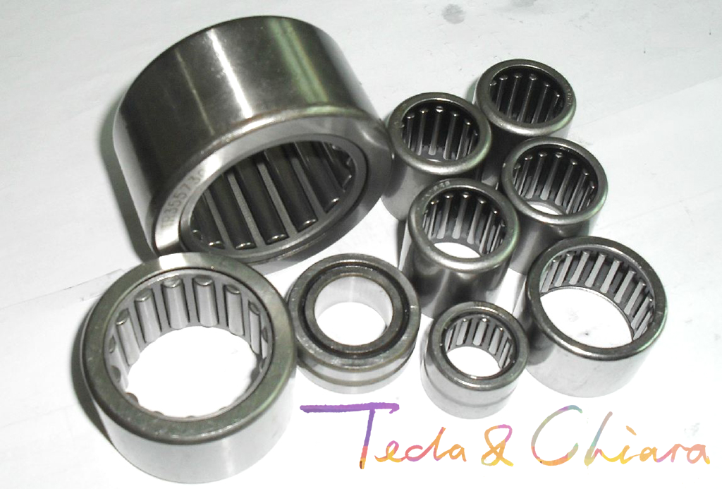 1Pc / 1Piece HK162212 HK1612 16 X 22 X 12 Mm Drawn Cup Type Needle Roller Bearing High Quality *