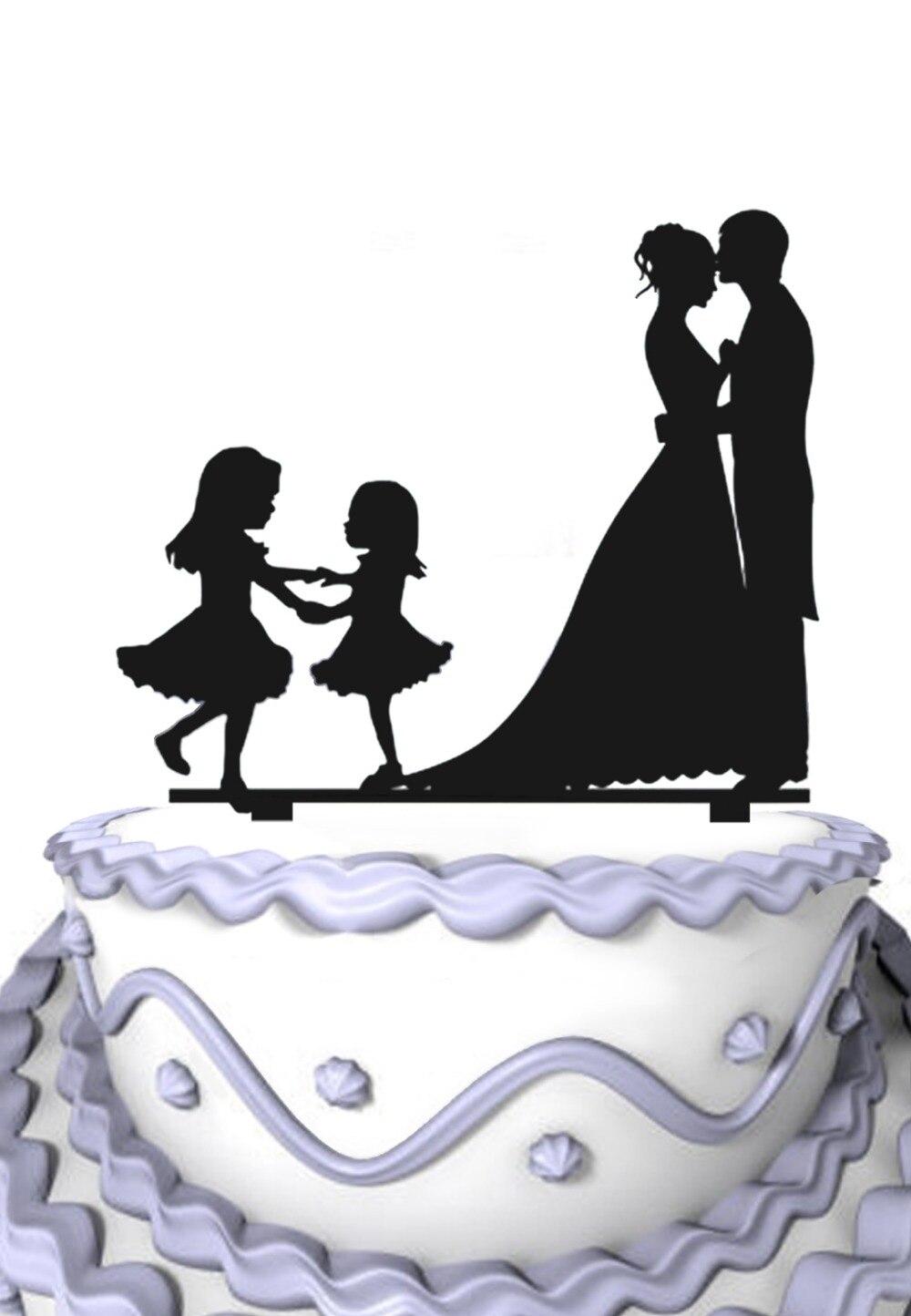 Bride And Groom Wedding Cake Decoration Anniversary Wedding Cake ...
