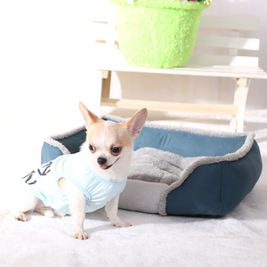 Image 5 - Haustier Hund Bett Für Große Hunde Waschbar Welpen Haustier Katze Betten Matten Wasserdicht Hund Haus Zwinger Herbst/Winter Warm weichen Hund Körbe Nest