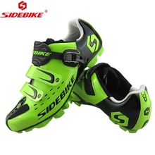 ФОТО 2015 hot sale sidebike montain bike shoes men's breathable cycling bike bicycle athletic shoes black/green/white/red sneaker