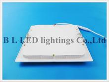die-cast aluminum LED flat light square recessed ceiling LED panel light 24W / 18W / 15W / 12W / 9W / 6W SMD2835 AC85-265V CE