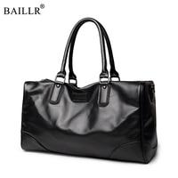 Fashion Men PU leatherTravel Bags Brand luggage Waterproof suitcase duffel bag Large Capacity Bags casual High-capacity handbag