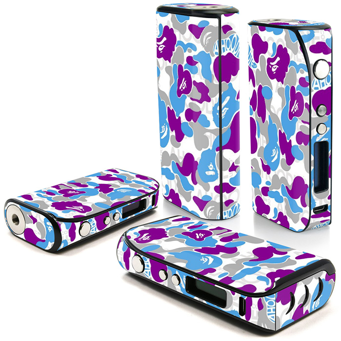 Free DROP Shipping Protective Vinyl Skin Decal Cover for iPV 5 Electronic Cigarette