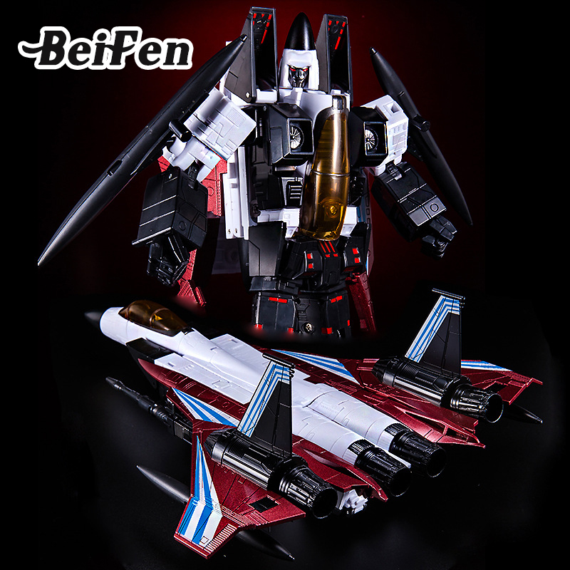 BEI FEN Transformation 24cm Cone heads Ramjet Yes Model robot MP11NR Airplane Action Figure Children Toy Christmas Birthday Gift bei fen dark edition transformation automobile tank robot big model 29cm plastic and alloy children gift brinquedos technologica