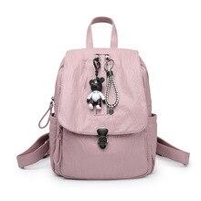 Модные Натуральная кожа рюкзак женщин сумки элегантный дизайн рюкзак для девочек школьные сумки молния мягкий кожаный рюкзак Mochilas Mujer