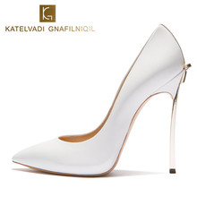 Брендовые свадебные туфли женские Высокий каблук Свадебная обувь с бантом пикантная женская обувь высокий каблук дизайнерские женские туфли-лодочки шпильке 10 см каблуке