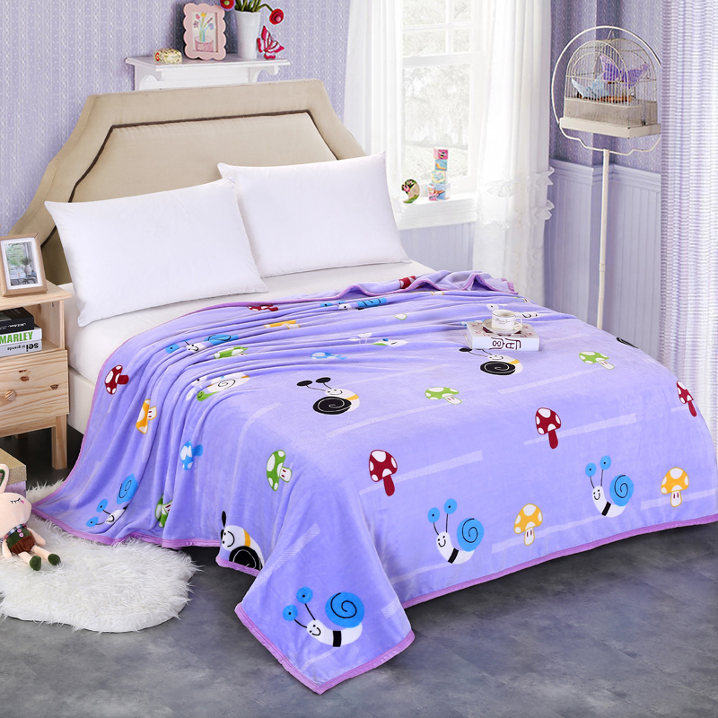 Cheap home textile 200x230cm High quality Super Soft fleece blanket sleeping sofa blanket winter blanket on the bed for children