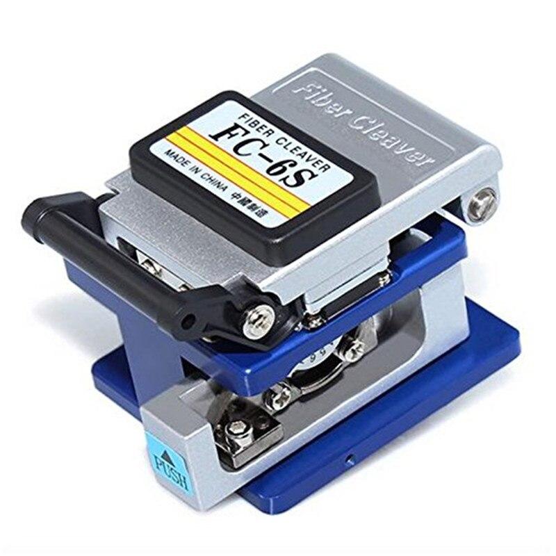 Metall Faser Cleaver FC-6S Fiber Optic Kabel Cutter Kalten Aluminium Faser Messer Schneiden Verwendet in FTTX FTTH FC-6S Faser-spalter werkzeug