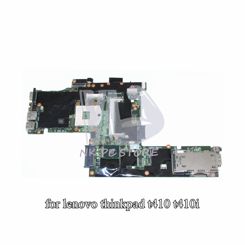 FRU 75Y4068 Motherboard For Lenovo thinkpad T410 T410i Notebook Main Board / System board QM57 Quadro NVS 3100M 48.4FZ10.031 big togo main circuit board motherboard pcb repair parts for nikon d610 slr