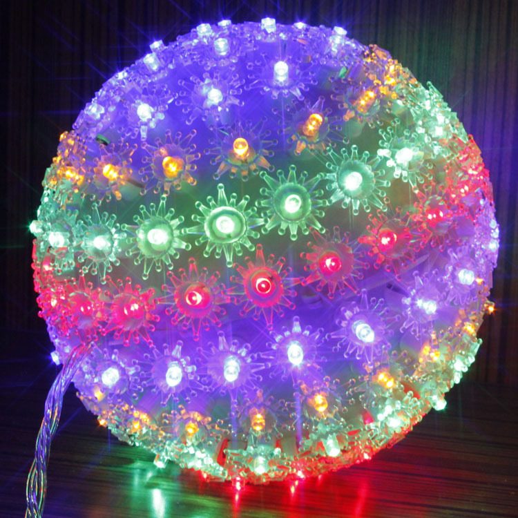 c Garden lights birthday decoration lights 150 ball lamp led string of lights-in Pendant Lights ...