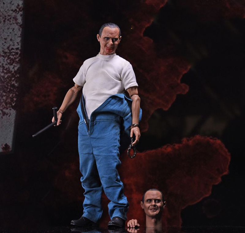 12'' Man Figure 1/6 Hannibal Lecter 2.0 Doll Toy With Head Sculpts FS012 1