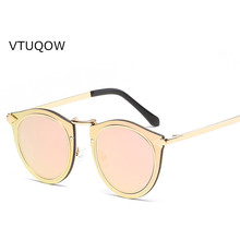 Кошачий глаз женские и мужские Солнцезащитные очки женские модные брендовые дизайнерские зеркало плоский объектив солнцезащитные очки для мужчин и женщин мужские и женские Лидер продаж Gafas
