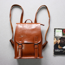 Новинка 2017 года Vintage рюкзаки модная женская кожаная сумка, рюкзак для девочек школьные сумки сумка Mochila