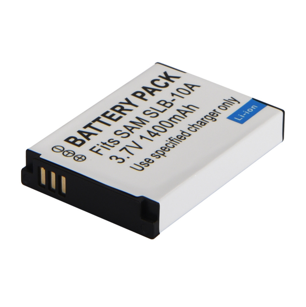 1pcs SLB-10A SLB 10A SLB10A Camera Battery For Samsung SL102 SL202 SL420 SL620 SL820 HZ10W HZ15W ES55 L100 L110 L200 L210 L310W