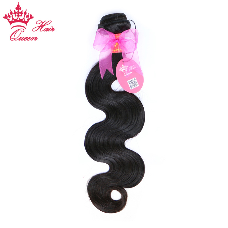 "Queen Hair Products Brazilian Hair Body Wave Bundles 100% Human Remy Hair Weave Natural Color 8""- 30"" Free Shipping"