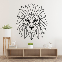 Cartoon Animal Lion Nursery Wall Stickers Vinyl Art Decals For Kids Rooms Diy Home Decoration Decal