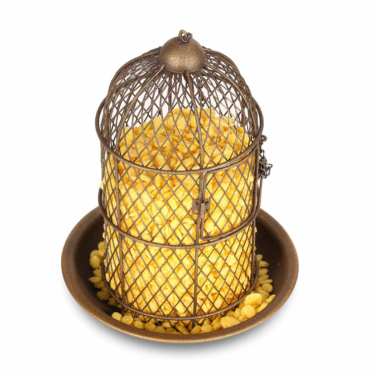 Tooarts Bird Feeder Bird Cage Feeder Hanging Wild Bird ...