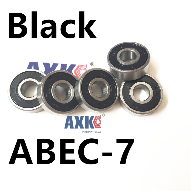 608-2RS 608ZZ 608 2RS ABEC-7 8x22x7mm red double rubber sealing cover deep groove ball bearing