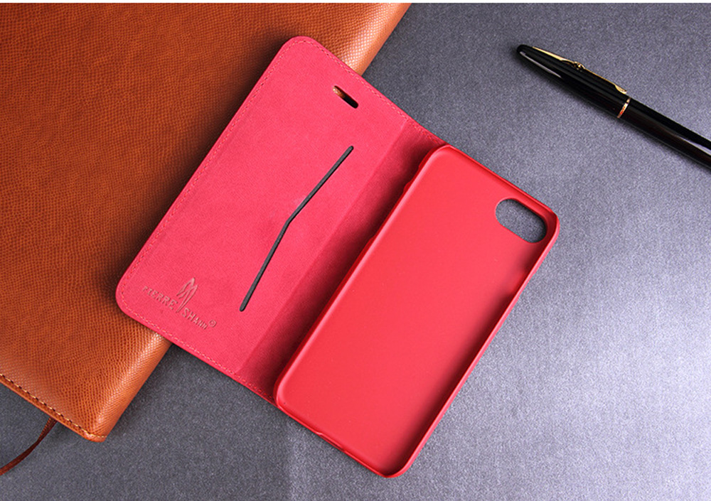 Luxury Cowhide Full cover case For iphone X 6 6s 7 8 First layer cowhide Copper money card holder For iphone 6 7 8 plus bag case (2)