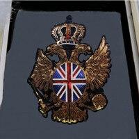 1 шт. Флаг Великобритании Корона аппликация в виде крыла Личность Вышивка блесток и военные значки на патч для одежды джинсовый жакет P65