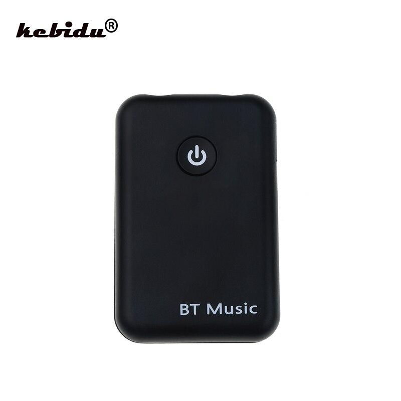 Funkadapter Kebidu 2 In 1 Wireless Bluetooth V4.2 Sender Empfänger 300 Mah 3,5mm Stereo Musik Audio Adapter Für Tv Kopfhörer Lautsprecher