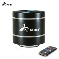 ADIN Metal Vibration HIFI Speaker USB Stereo Multimedia Computer Speaker TF FM Radio Subwoofer With Remote