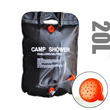 20L PVC Water bag,Camping Portable shower bag,Folding storage bag,Ultralight solar outdoor sun heated bag,Outdoor bathing