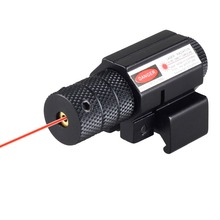 Tactical Aiming Red Beam Dot Laser Sight Scope with Mount For Rifle Pistol Gun Weaver Mounts