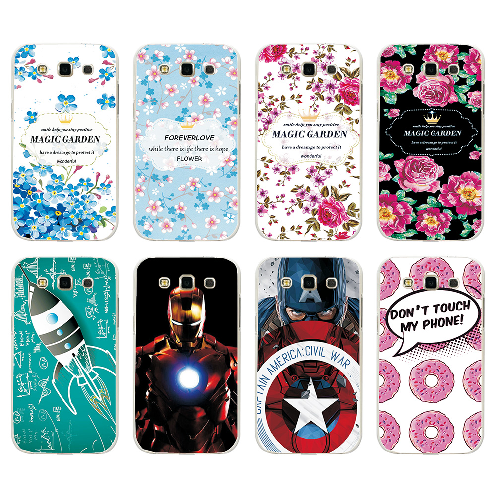 New Arrival Ample Fashion Hard Case For Samsung Galaxy Win Duos i8552 8552 Case Cover For Samsung Galaxy Win I8552+Free Stylus ...