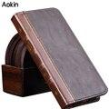Aokin geral livro bolsa carteira pu leather case para iphone 6/6 s/5S/6 plus 5/se para samsung galaxy s7 s7edge nota 4 5 tampa do cartão
