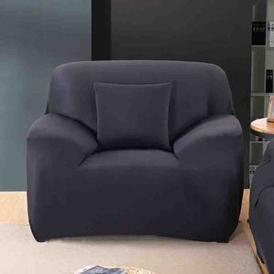 Image 2 - מודרני טהור צבע אופנה אלסטי ספה מכסה לסלון ספה כיסוי Stretchable ספה כרית רחיץ ספה ריפוד