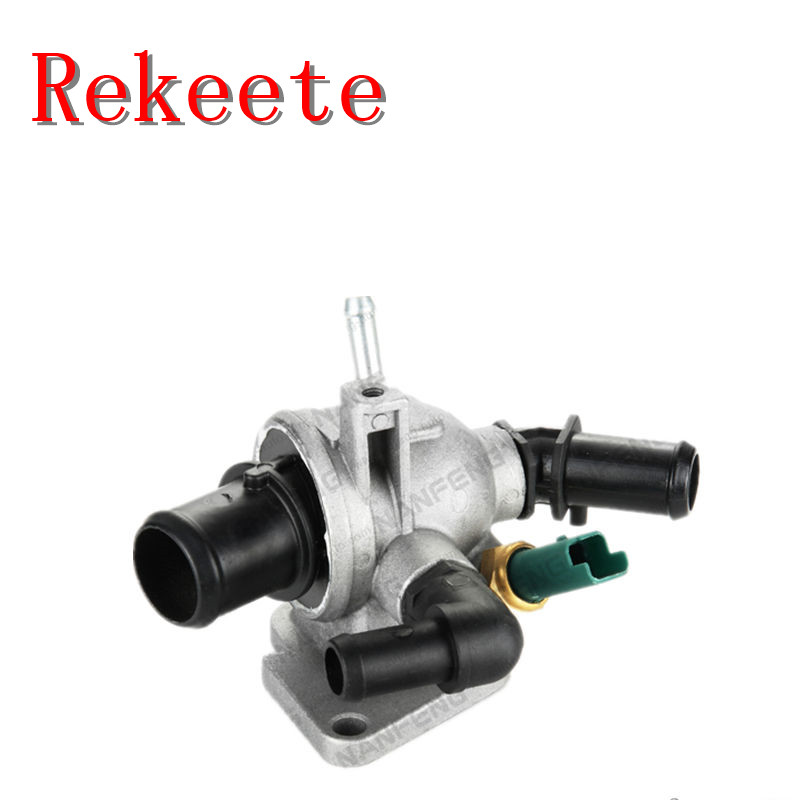 Thermostat de système de refroidissement automatique 1 pièces pour TERMOSTATO VALVOLA TERMOSTATICA FIAT GRANDE PUNTO DAL 2005 MULTIJET 55202373 55194271
