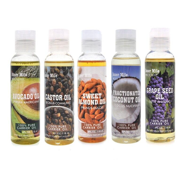 Cross - border spot Castor Oil Body Fragrance Oil Natural Coconut Castor Base Oil Carrier Oil