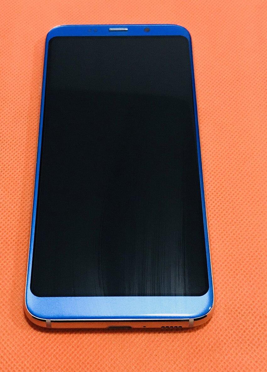 Utilisé LCD D'origine Affichage Écran + Écran Tactile + Cadre pour Bluboo S8 MTK6750T Octa Core Livraison gratuite