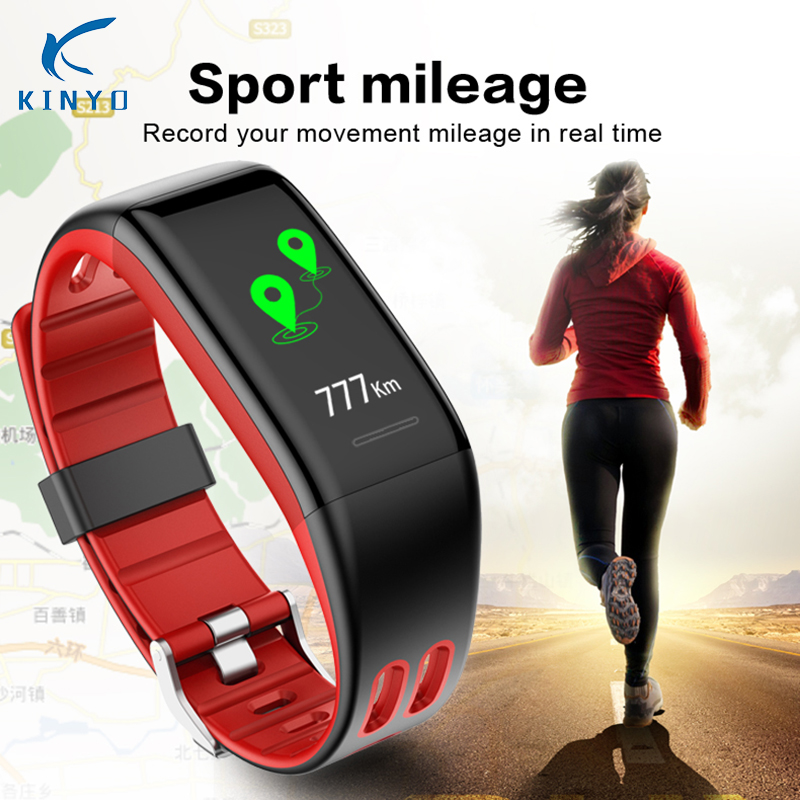 Women T30 wristband heart rate smart bracelet waterproof ip68 smart band remote camera call message reminder pk xiomi mi band 3 2018 heart rate smart band smart bracelet waterproof activity wristband high capacity low power usb charging pk xiomi mi band 3