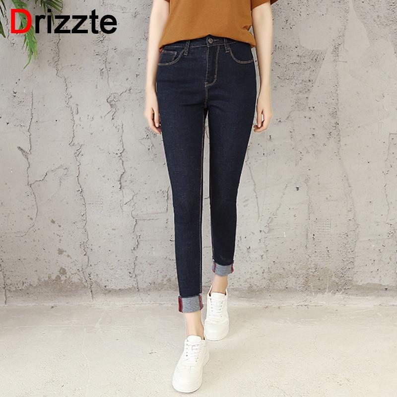 Online Get Cheap Womens Black Stretch Jeans -Aliexpress.com